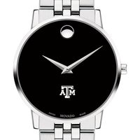 Texas A&M Men's Movado Museum with Bracelet