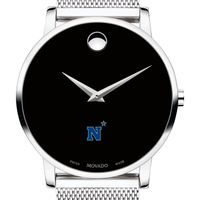 US Naval Academy Men's Movado Museum with Mesh Bracelet