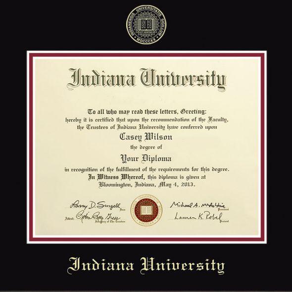 Indiana University Diploma Frame, the Fidelitas - Image 2