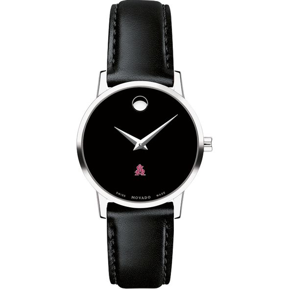 Arizona State Women's Movado Museum with Leather Strap - Image 2