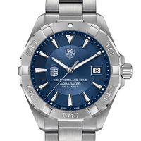 Westmoreland Club M's TAG Heuer Steel Aquaracer w/ Blue Dial