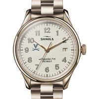 UVA Shinola Watch, The Vinton 38mm Ivory Dial