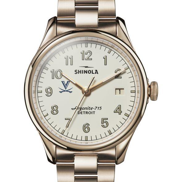 UVA Shinola Watch, The Vinton 38mm Ivory Dial