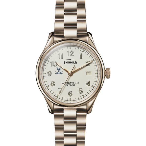 UVA Shinola Watch, The Vinton 38mm Ivory Dial - Image 2