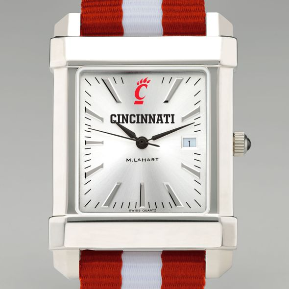 Cincinnati Collegiate Watch with NATO Strap for Men - Image 1