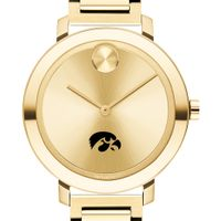 University of Iowa Women's Movado Gold Bold 34