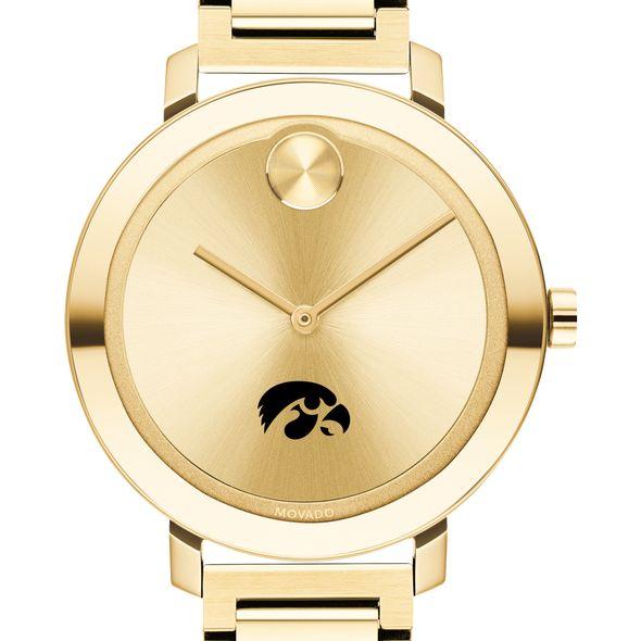 University of Iowa Women's Movado Gold Bold 34
