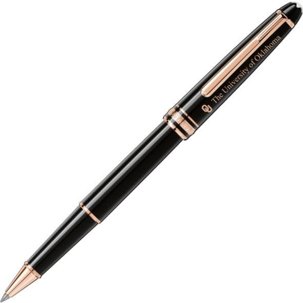 Oklahoma Montblanc Meisterstück Classique Rollerball Pen in Red Gold