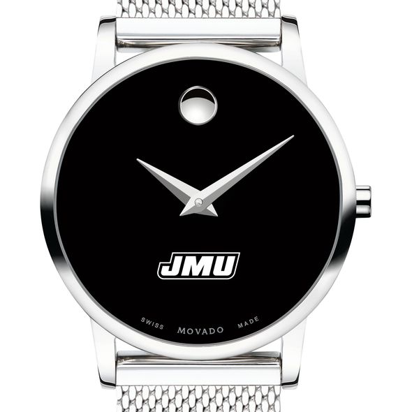James Madison University Women's Movado Museum with Mesh Bracelet