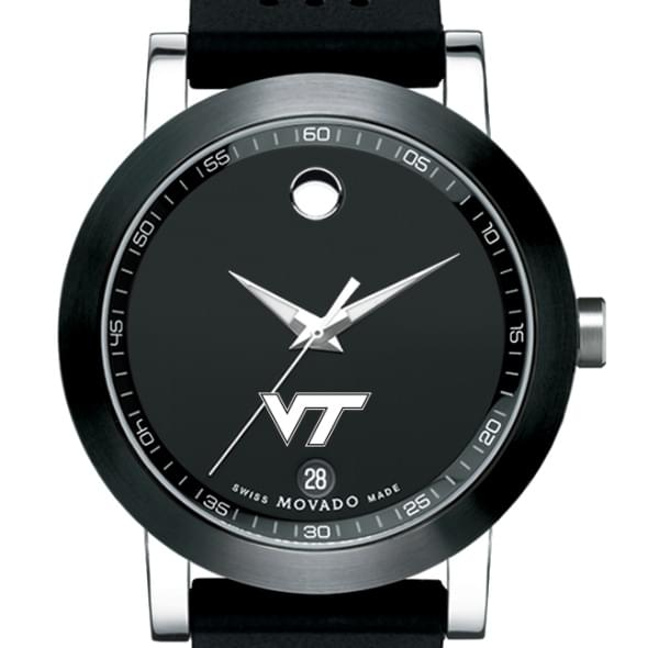 Virginia Tech Men's Movado Museum Sport Rubber Strap