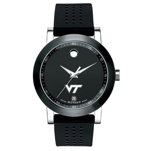 Virginia Tech Men's Movado Museum Sport Rubber Strap - Image 2