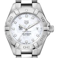 Charleston Women's TAG Heuer Steel Aquaracer with MOP Diamond Dial