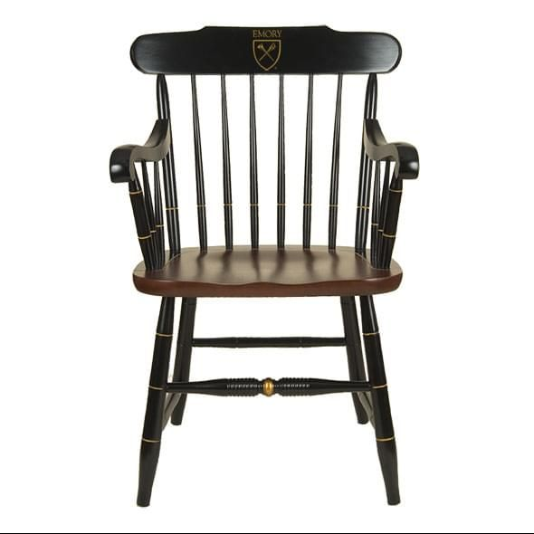 Emory University Captain's Chair by Hitchcock