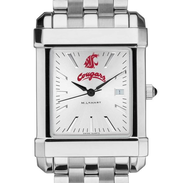 Washington State University Men's Collegiate Watch w/ Bracelet