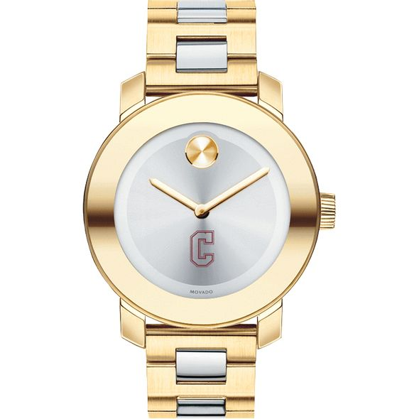 College of Charleston Women's Movado Two-Tone Bold - Image 2