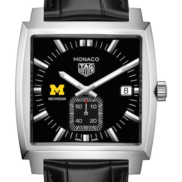 University of Michigan TAG Heuer Monaco with Quartz Movement for Men