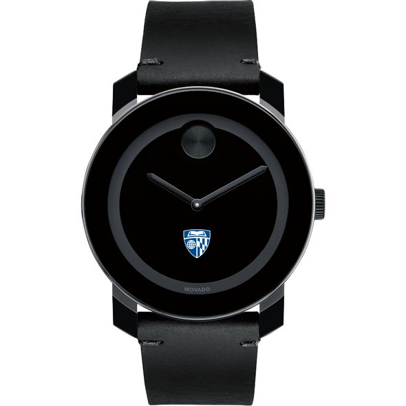Johns Hopkins University Men's Movado BOLD with Leather Strap - Image 2