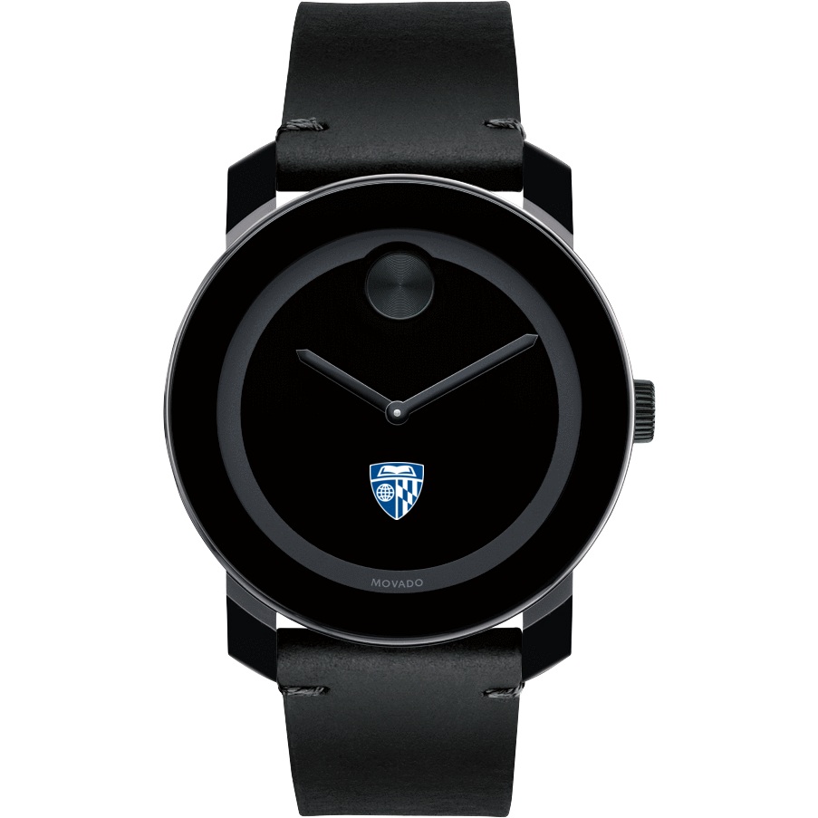 Johns Hopkins Men's Movado BOLD with Leather Strap - Image 2