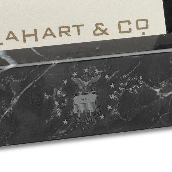 USAFA Marble Business Card Holder - Image 2