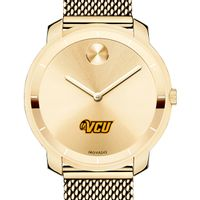 Virginia Commonwealth University Women's Movado Gold Bold 36