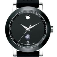 US Naval Institute Men's Movado Museum Sport Rubber Strap