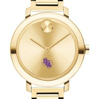 Stephen F. Austin State University Women's Movado Gold Bold 34