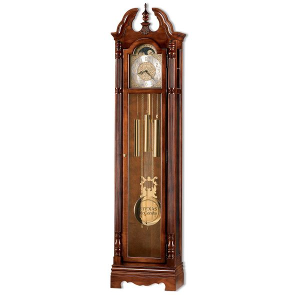 Texas McCombs Howard Miller Grandfather Clock - Image 1