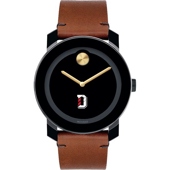 Davidson College Men's Movado BOLD with Brown Leather Strap - Image 2