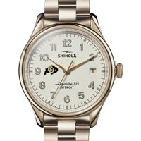 Colorado Shinola Watch, The Vinton 38mm Ivory Dial