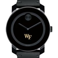 Wake Forest Men's Movado BOLD with Leather Strap