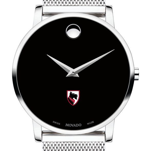 Carnegie Mellon University Men's Movado Museum with Mesh Bracelet