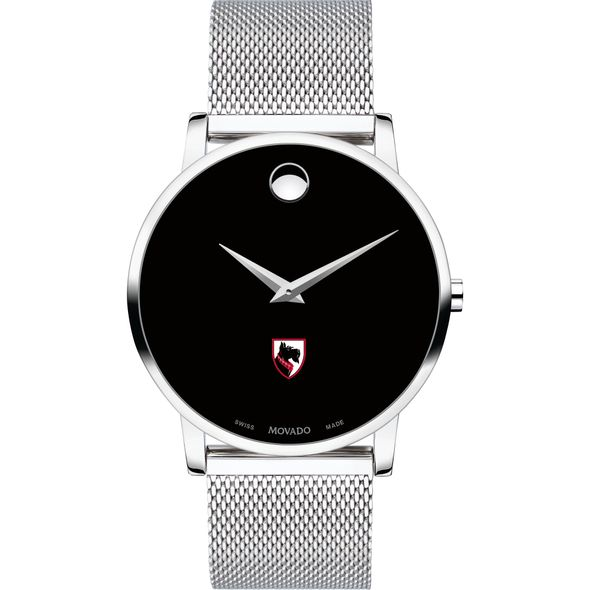Carnegie Mellon University Men's Movado Museum with Mesh Bracelet - Image 2