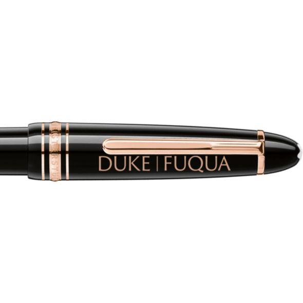 Duke Fuqua Montblanc Meisterstück LeGrand Ballpoint Pen in Red Gold - Image 2