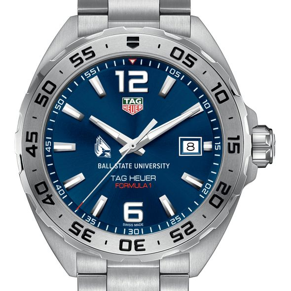 Ball State Men's TAG Heuer Formula 1 with Blue Dial - Image 1