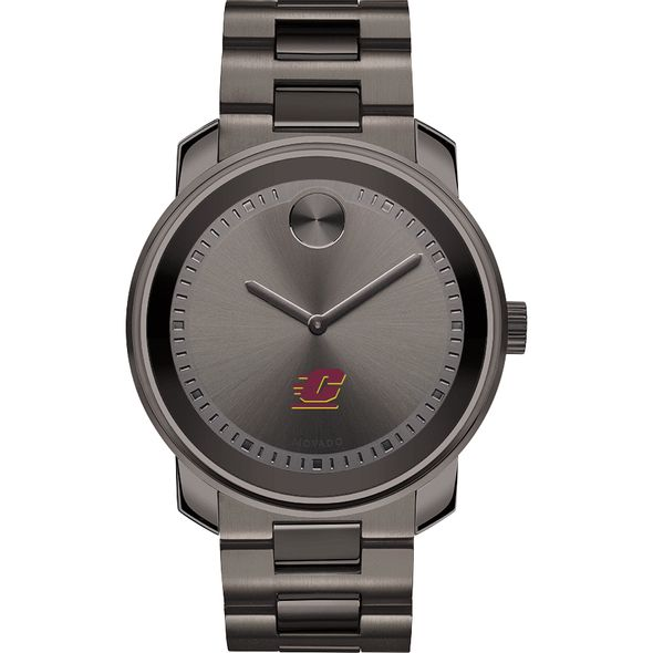 Central Michigan Men's Movado BOLD Gunmetal Grey - Image 2