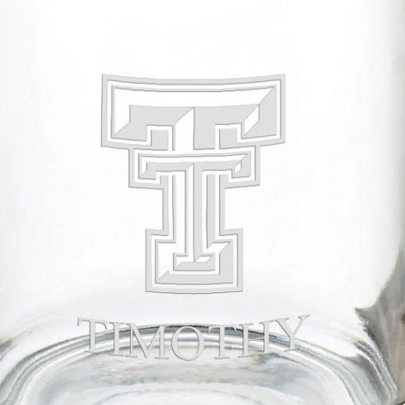 Texas Tech 13 oz Glass Coffee Mug - Image 3