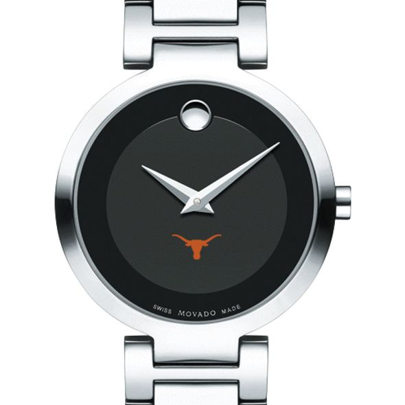 University of Texas Women's Movado Museum with Steel Bracelet