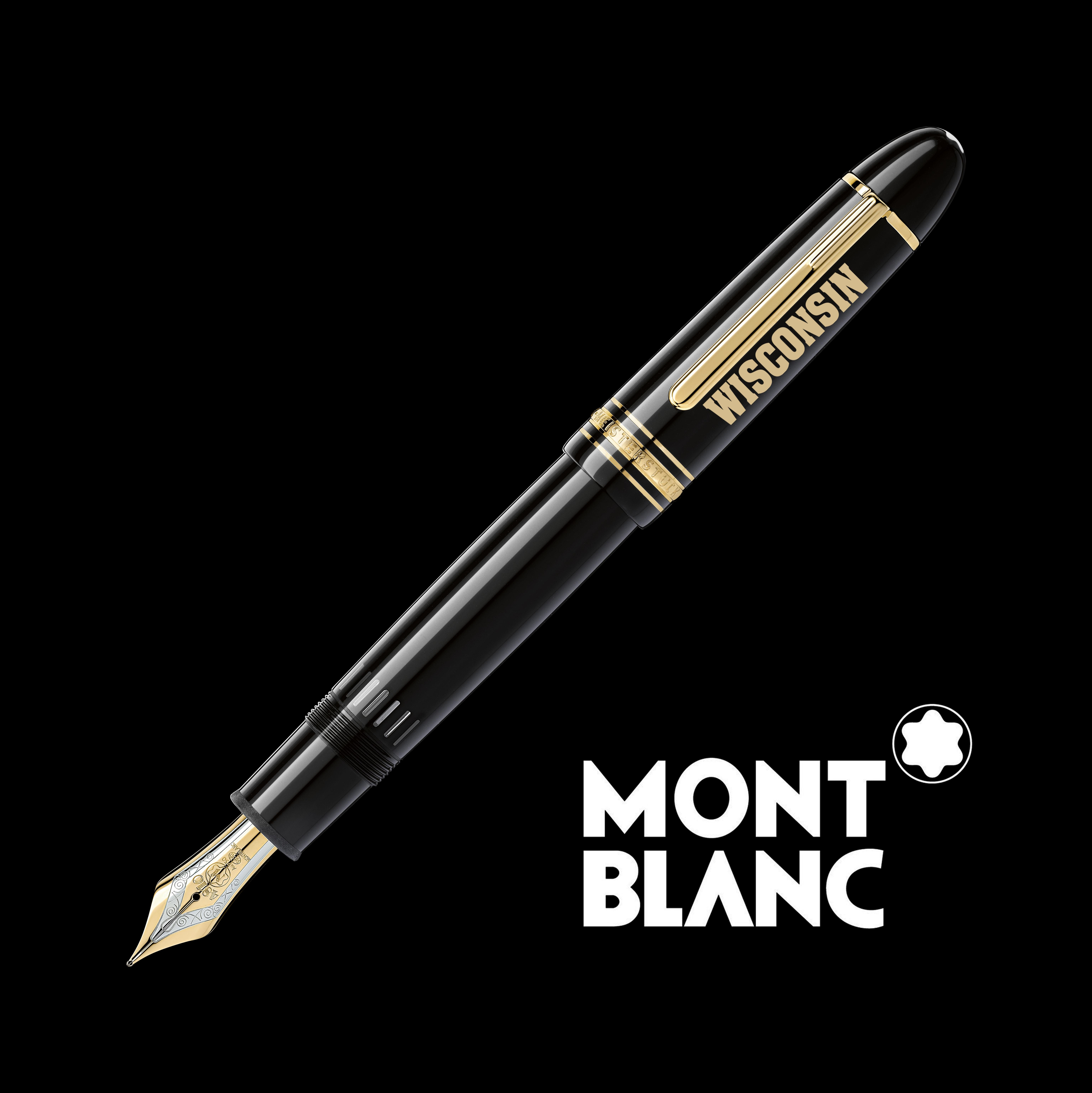 Wisconsin Montblanc Meisterstück 149 Fountain Pen in Gold