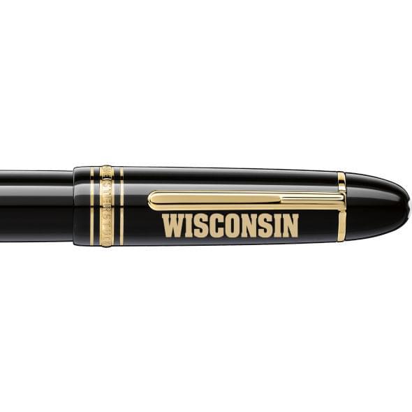 Wisconsin Montblanc Meisterstück 149 Fountain Pen in Gold - Image 2
