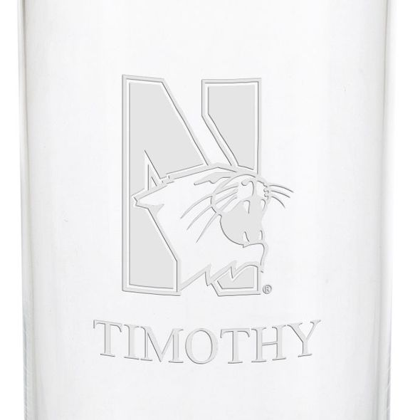 Northwestern University Iced Beverage Glasses - Set of 2 - Image 3