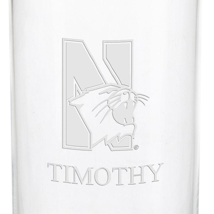Northwestern University Iced Beverage Glasses - Set of 2 - Image 3