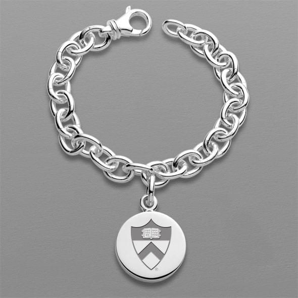Princeton Sterling Silver Charm Bracelet