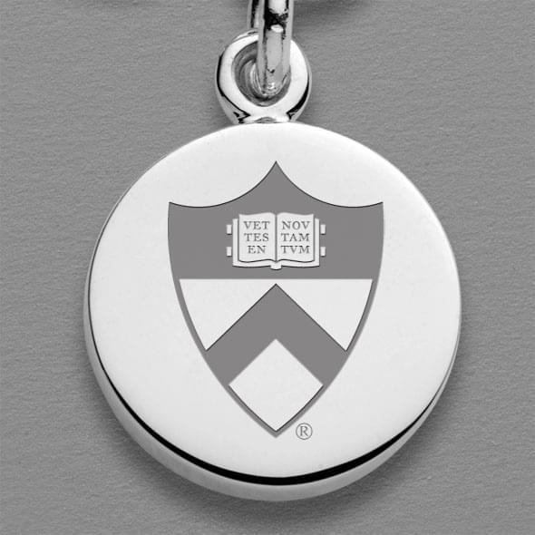 Princeton Sterling Silver Charm Bracelet - Image 2