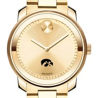 University of Iowa Men's Movado Gold Bold