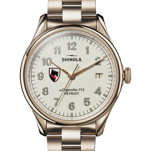 Carnegie Mellon Shinola Watch, The Vinton 38mm Ivory Dial
