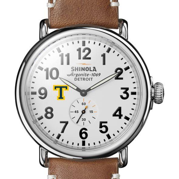 Trinity Shinola Watch, The Runwell 47mm White Dial
