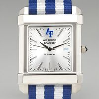 US Air Force Academy Collegiate Watch with NATO Strap for Men