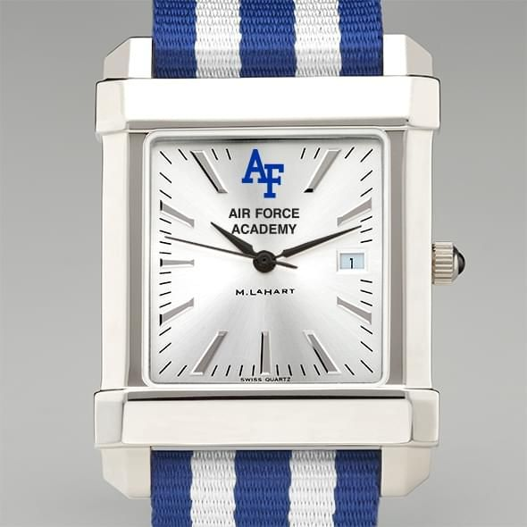US Air Force Academy Collegiate Watch with NATO Strap for Men - Image 1