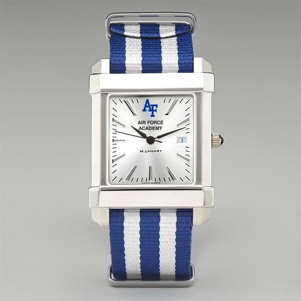 US Air Force Academy Collegiate Watch with NATO Strap for Men - Image 2