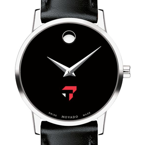 Tepper Women's Movado Museum with Leather Strap - Image 1